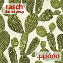 ★在庫一掃 SALE!!★rasch ラッシュ 2019ドイツ製 輸入壁紙 フリース(不織布)素材1ロール 53cm×10m441000サボテ…