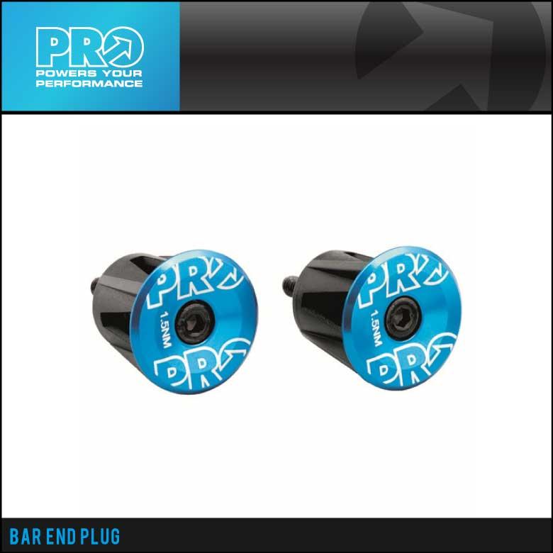 (即納)(SHIMANO PRO)シマノプロ BAR END CAP バーエンドキャップ ブルー (R20RAC0058X)(8717009331548)