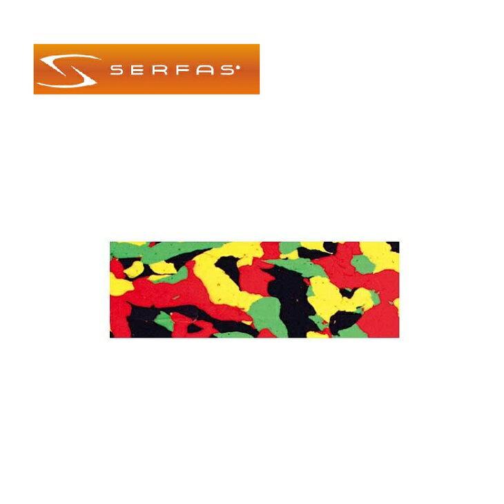(SERFAS)サーファス バーテープ ECHELON エセロン レッドグリーンイエロー(474281)