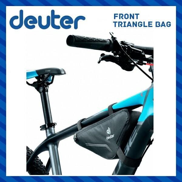 deuter ドイター Front Triangle Bag フロントトライアングルバッグ(1.3L) ブラック(7000)