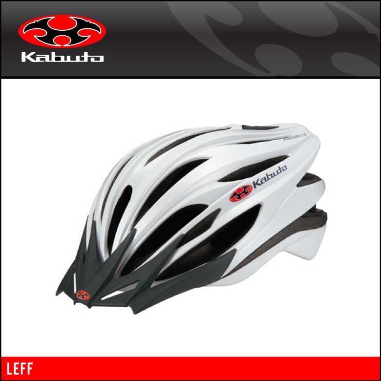 14 OGK KABUTO オージーケーカブト HELMET ヘルメット LEFF レフ パールホワイト 4966094476502
