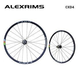ALEXRIMS アレックスリム DISC ROAD チューブレスレディホイール CXD4 (シマノ・スラム 8-9-10-11S) 前後セット(820507)