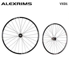 (送料無料)ALEXRIMS アレックスリム MTB チューブレスレディホイール VXD1 (シマノ 8-9-10-11S) 前後セット