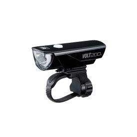 (CATEYE) キャットアイ LIGHT ヘッドライト HL-EL151RC VOLT200 ボルト200 ブラック(200ルーメン)(4990173028955)
