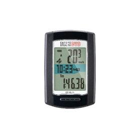 (CATEYE)キャットアイ サイクルコンピューター CC-GL11 STEALTH evo ステルスエヴォ 本体のみ(USB充電)(GPS内蔵)(海抜高度計測可能登坂高度計測)(ヒルクライム)