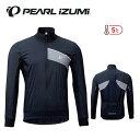 PEARLIZUMI パールイズミ 2020秋冬モデル キルト ジャケット 3700-BL 1. ブラック メンズ ウェア