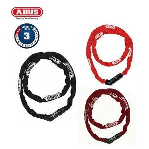 ABUS アブス 4804C/110 4804 COMBO 110 チェーンロック 1100mm ダイヤル式 セキュリティーレベル3