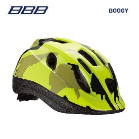 BBB ヘルメット BHE-37 BOOGY ブーギー カモフラージュ/ネオンイエロー