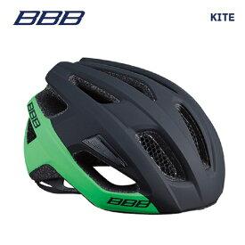BBB ヘルメット BHE-29 KITE カイト マットブラック/グリーン