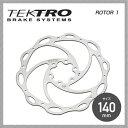 【TEKTRO】テクトロ BRAKE ブレーキ ROTOR 1 ローター1 140mm【BR-TK-040】【4580214323738】