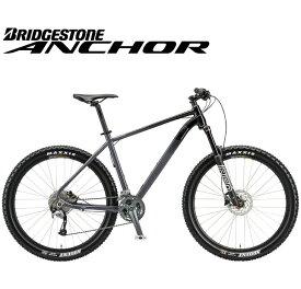 (選べる特典付)マウンテンバイク 2020 ANCHOR アンカー XG6 ACERA MODEL シマノ アセラ仕様 ストーングレー 27段変速 27.5インチホイール アルミ MTB
