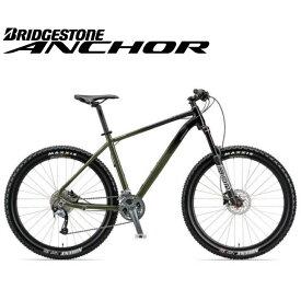 (選べる特典付)マウンテンバイク 2020 ANCHOR アンカー XG6 ACERA MODEL シマノ アセラ仕様 フォレストカーキ 27段変速 27.5インチホイール アルミ MTB