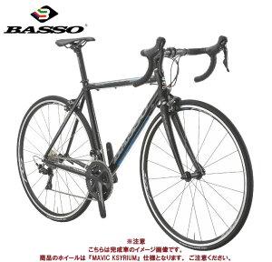 (選べる特典付き!)ロードバイク 2021 BASSO バッソ MONZA モンツァ R7000 MAVIC KSYRIUM仕様 ブラックブルー SHIMANO 105 2×11SP アルミ