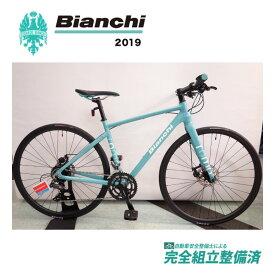 クロスバイク 2019年 BIANCHI ビアンキ ROMA3 Disc ローマ3 Disc Celeste