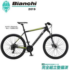 マウンテンバイク 2019年 BIANCHI ビアンキ MAGMA27.2 マグマ 27.2 Matt Black/Yellow