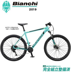 マウンテンバイク 2019年 BIANCHI ビアンキ MAGMA29.0 マグマ 29.0 CK16/Black/Yellow