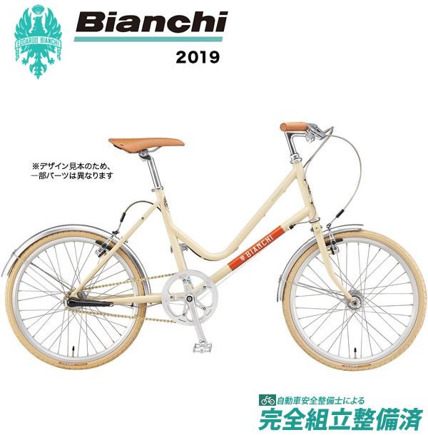 小径車 2019年 BIANCHI ビアンキ MINIVELO7Lady ミニベロ7レディ Ivory