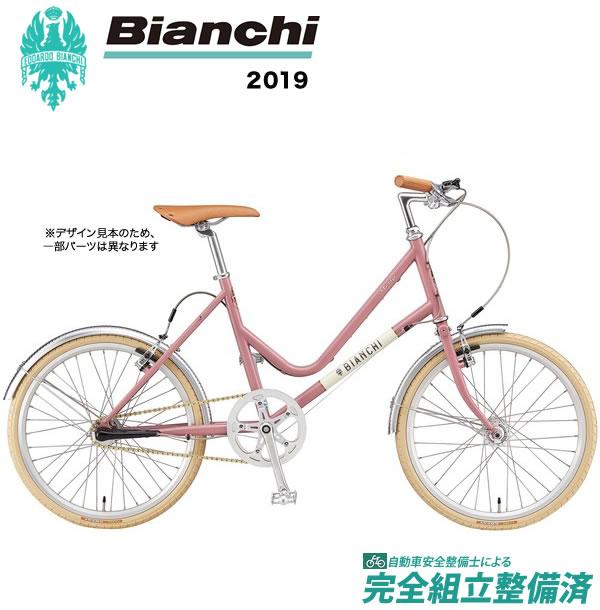 小径車 2019年 BIANCHI ビアンキ MINIVELO7Lady ミニベロ7レディ Light Russet