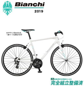 クロスバイク 2019年 BIANCHI ビアンキ ROMA4 ローマ4 White