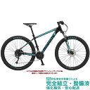 """マウンテンバイク 2020 BIANCHI ビアンキ MAGMA 27.2 マグマ27.2 BLACK/CK16-WHITE FULL GLOSSY(6B) 27段変速 27.5"""" …"""