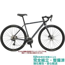 グラベルロードバイク 2020 BIANCHI ビアンキ ORSO SHIMANO GRX 600 オルソGRX600 GRAPHITE/BLACK-CK16 GLOSSY(KP) オールロード 2×11SP DISC BRAKE クロモリ