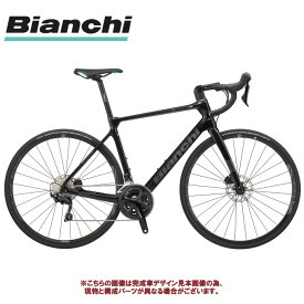 ディスク ロードバイク 2020 BIANCHI ビアンキ INFINITO XE DISC 105 インフィニートXEディスク 105 BLACK/CK16 GRAPHITE FULL GLOSSY(5H) 2×11SP カーボン