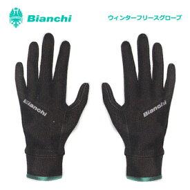 (ネコポス便対応商品)BIANCHI ビアンキ ウインター フリース グローブ 冬用 グローブ アパレル