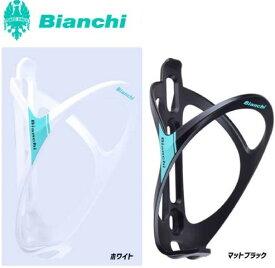 BIANCHI ビアンキ ボトルケージA (プラスチック製) ブラック・ホワイト