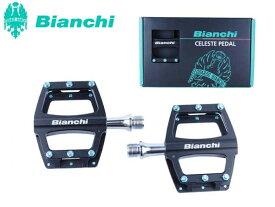 (即納)BIANCHI ビアンキ CNC フラットペダル A ブラック(4573392624285)