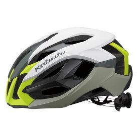 OGK KABUTO オージーケーカブト IZANAGI イザナギ G-1マットホワイトイエロー(JCF公認)ヘルメット