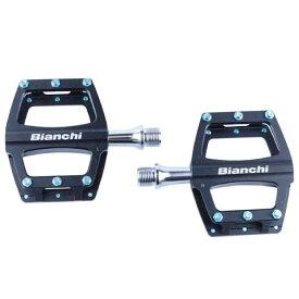 BIANCHI ビアンキ CNC 6061 BODY フラットペダル ブラック(4573392624285)