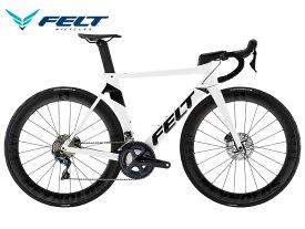 (選べる特典付き!)ロードバイク 2021 FELT フェルト AR ADVANCED ULTEGRA AR アドバンスド アルテグラ ホワイト/テクストリーム 22段変速 DISC BRAKE