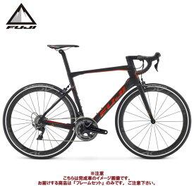(ケミカル3点プレゼント)ロードバイク 2021 FUJI フジ TRANSONIC 2.1 RIM FRAME SET MATTE CARBON/RED フレームセット