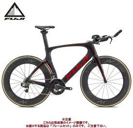 (ケミカル3点プレゼント)TTバイク 2020 FUJI フジ NORCOM STRAIGHT 1.1 FRAME SET MATTE CARBON/RED フレームセット