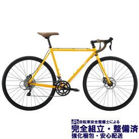 (選べる特典付き!)グラベル ロードバイク 2020 FUJI フジ FEATHER CX+ フェザー CX プラス マスタード (SHIMANO CLARIS)(16段変速)(700C)(ペダル標準装備)