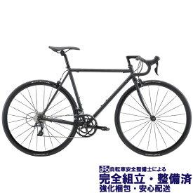 (選べる特典付き!) ロードバイク 2020 FUJI フジ BALLAD OMEGA バラッドオメガ マットブラック (SHIMANO SORA)(18段変速)(700C)(クロモリ)(ペダル標準装備)