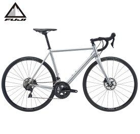 (選べる特典付き!)ロードバイク 2021 FUJI フジ FOREAL DISC フォレアル ディスク マットシルバー 22段変速 SHIMANO 105 700C クロモリ