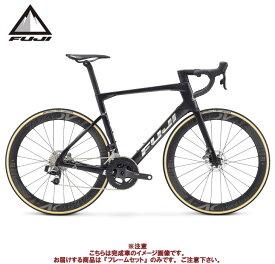 (ケミカル3点プレゼント)ロードバイク 2021 FUJI フジ TRANSONIC 1.1 DISC FRAME SET MATTE CARBON/SILVER フレームセット