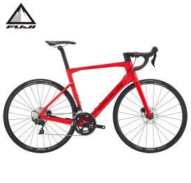 (選べる特典付き!)ロードバイク 2021 FUJI フジ TRANSONIC 2.5 DISC トランソニック2.5 ディスク マットレッド 22段変速 SHIMANO 105 700C