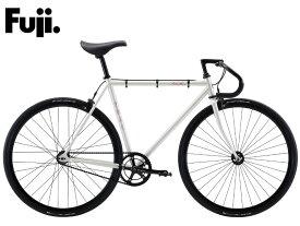 シングルスピードバイク 2021 FUJI フジ FEATHER フェザー ボーンホワイト シングルギア ピストバイク 700C クロモリ