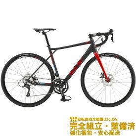 (選べる特典付!)ロードバイク 2020 GT ジーティー GT ROAD COMP ジーティーロードコンプ ブラック 18段変速(SHIMANO SORA)(ディスクブレーキ)(ペダル標準装備)