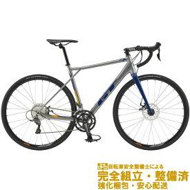 (選べる特典付!)ロードバイク 2020 GT ジーティー GT ROAD SPORT ジーティーロードスポーツ ガンメタル 16段変速(SHIMANO CLARIS)(DISC BRAKE)(ペダル標準装備)