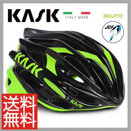 (納期未定)(送料無料)16 KASK カスク Helmet ヘルメット MOJITO モヒート ブラックライム (JCF公認モデル)