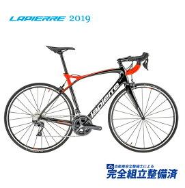 (選べる特典付!)ロードレーサー 2019 LAPIERRE ラピエール PULSIUM SL 600 パルシウム SL 600 ブラック/レッド