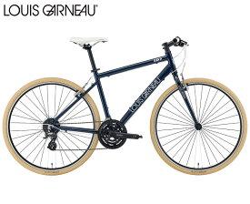 クロスバイク 2021 LOUIS GARNEAU ルイガノ SETTER8.0 セッター8.0 LGネイビー 24段変速