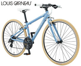 クロスバイク 2021 LOUIS GARNEAU ルイガノ SETTER8.0 セッター8.0 マットアイリスブルー 24段変速