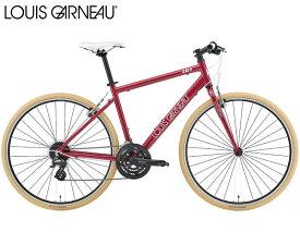 クロスバイク 2021 LOUIS GARNEAU ルイガノ SETTER8.0 セッター8.0 ワインレッド 24段変速