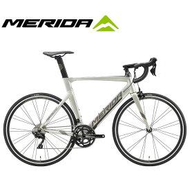 (選べる特典付)ロードバイク 2020 MERIDA メリダ REACTO 400 リアクト400 シルクチタン/ダークシルバー(ESS1) SHIMANO 105 2×11SP 700C アルミ
