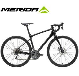 (選べる特典付)ロードバイク 2020 MERIDA メリダ SILEX 100 サイレックス100 メタリックブラック(アンスラサイト)【EK84】 16段変速 CLARIS 700C グラベル