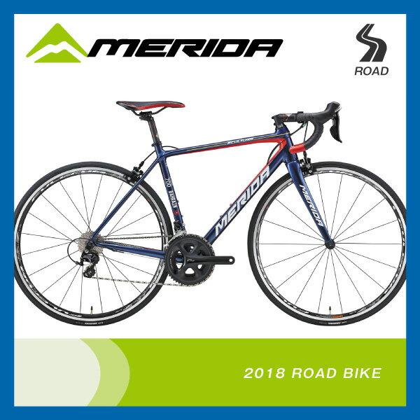 (送料無料)(特典付)ロードレーサー 2018年モデル MERIDA メリダ SCULTURA 700 スクルトゥーラ700 ダークブルー(チームレプリカ) EBR2